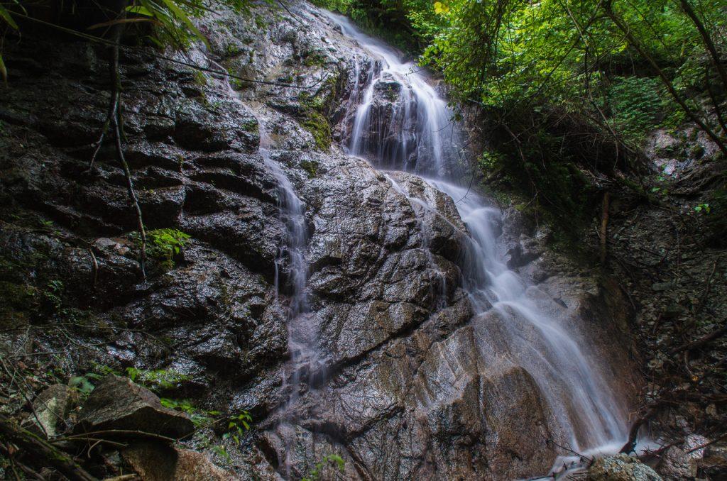 石ブテ西谷(金剛山)