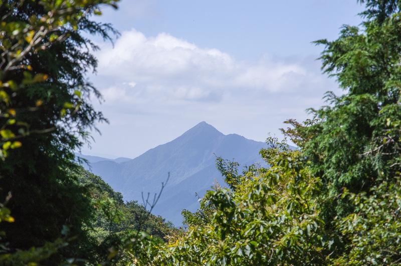 三峰山(三重県、奈良県/高見山地)