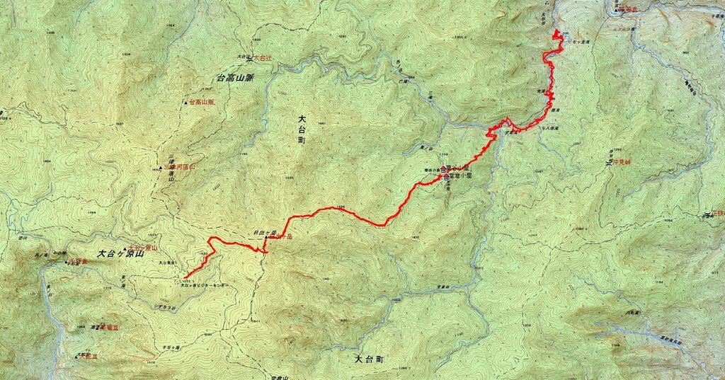 大杉谷(三重県/台高山脈)