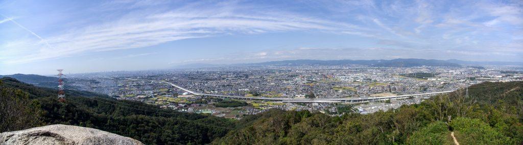 交野山縦走(大阪府/生駒山地)