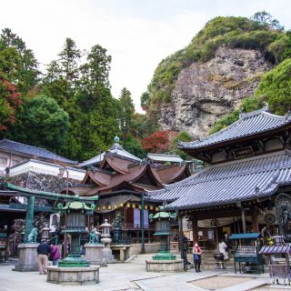 宝山寺(奈良県生駒市)