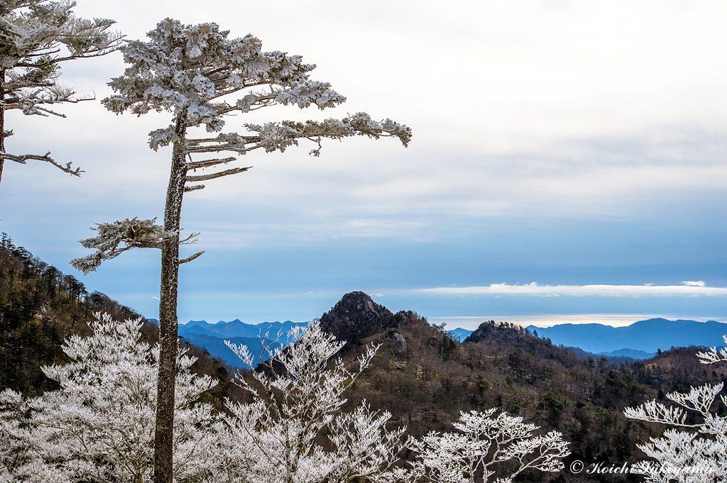 大日岳と尾鷲湾