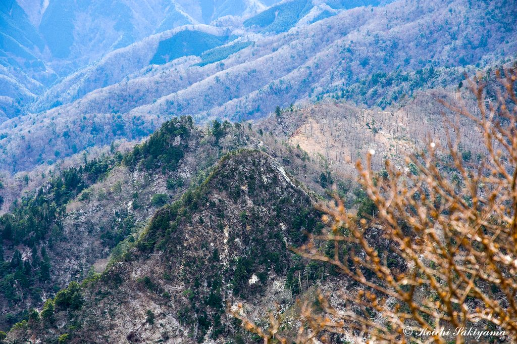 大日岳(1568m)