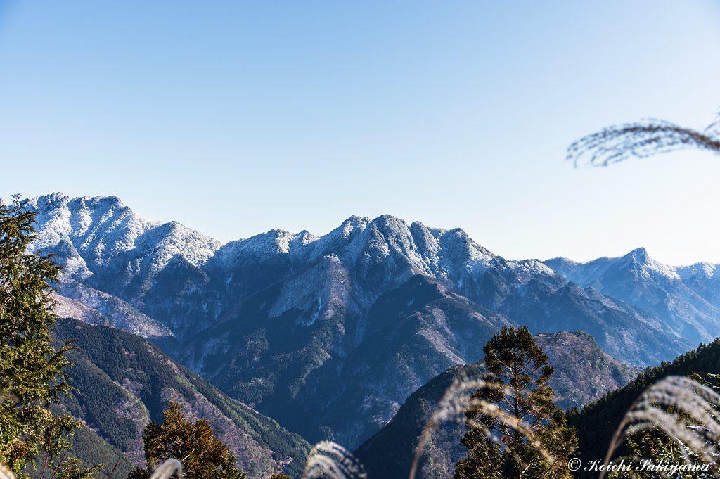 稲村ヶ岳からバリゴヤノ頭と行者還岳