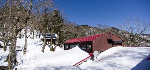 風もなく穏やかな天候…今日はのんびり稲村小屋周辺で昼食