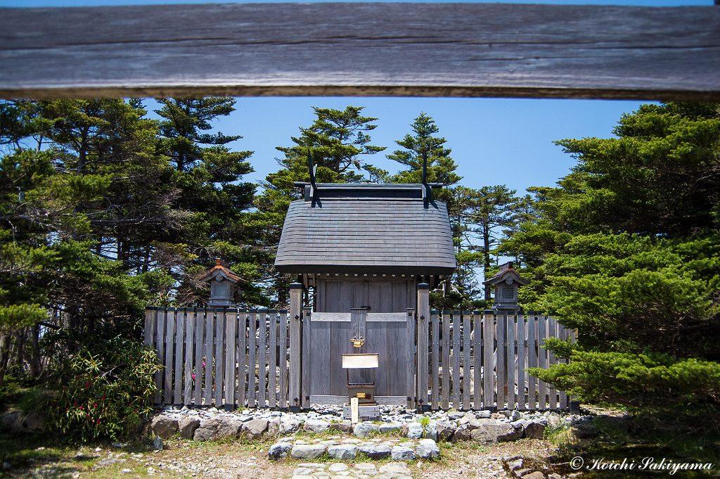 天河神社奥宮の弥山神社