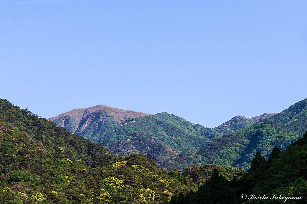 宇賀渓駐車場から竜ヶ岳