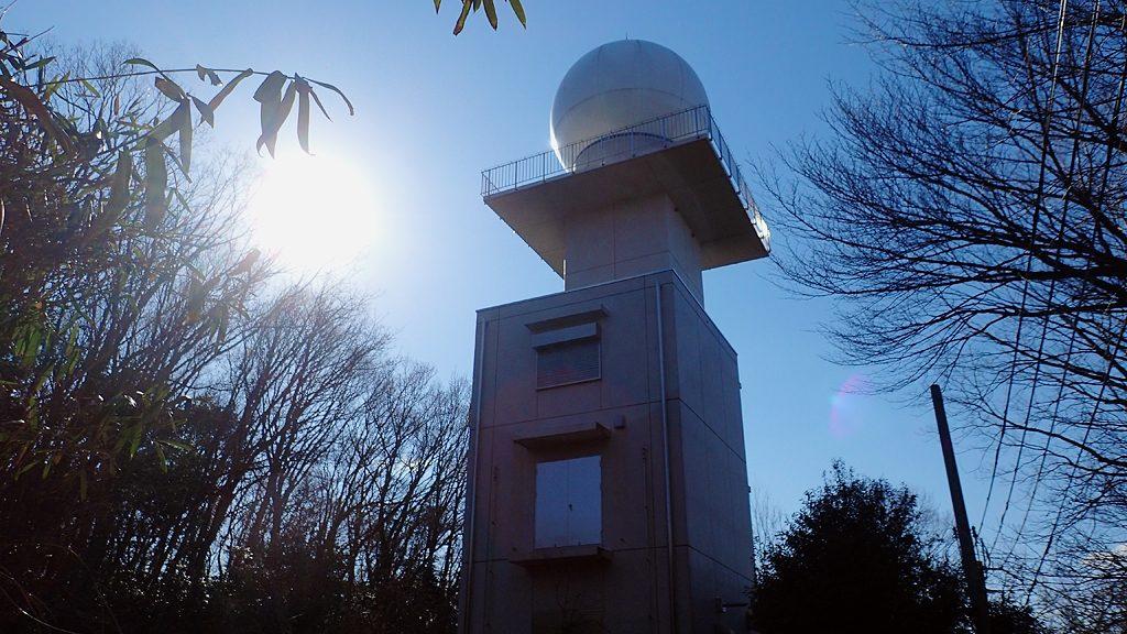 高安山気象レーダー観測所