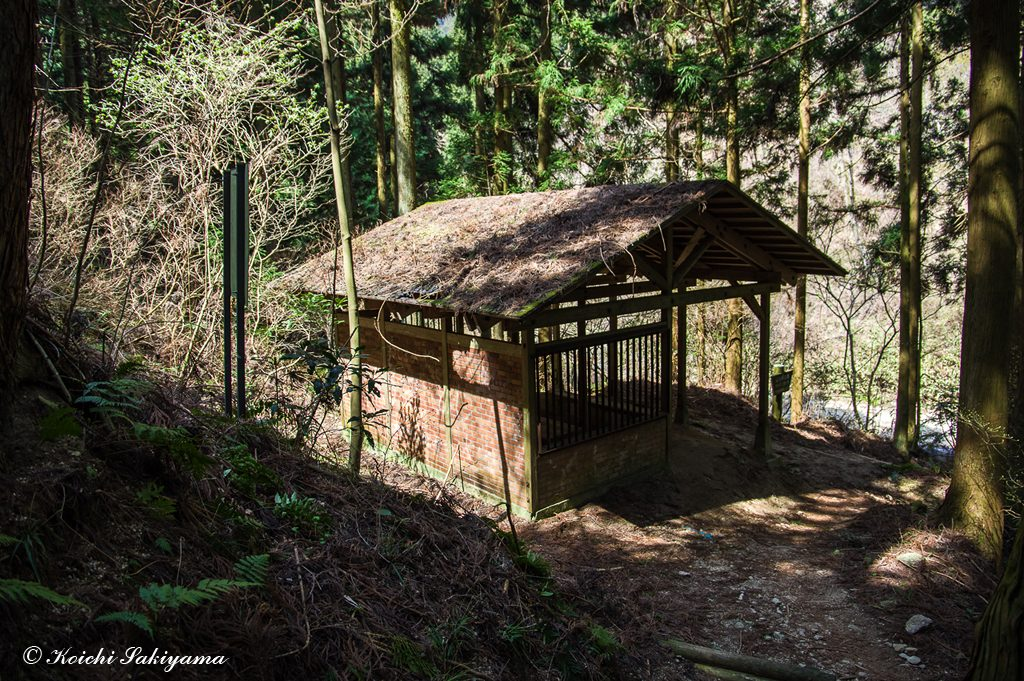 カヤンボの休憩小屋