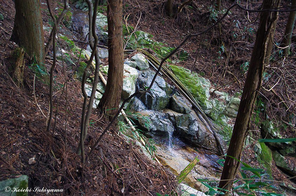 一の滝の滝頭